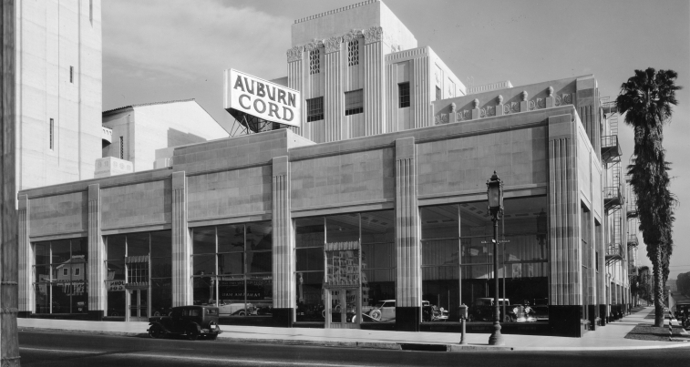 Auburn Cord Showroom | AC Martin