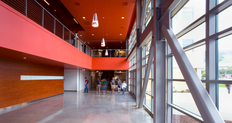 Engineering building iv cal poly slo ac martin for Cal poly pomona interior design