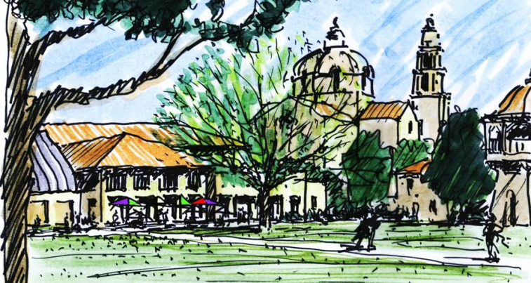 Mount saint marys university master plan ac martin