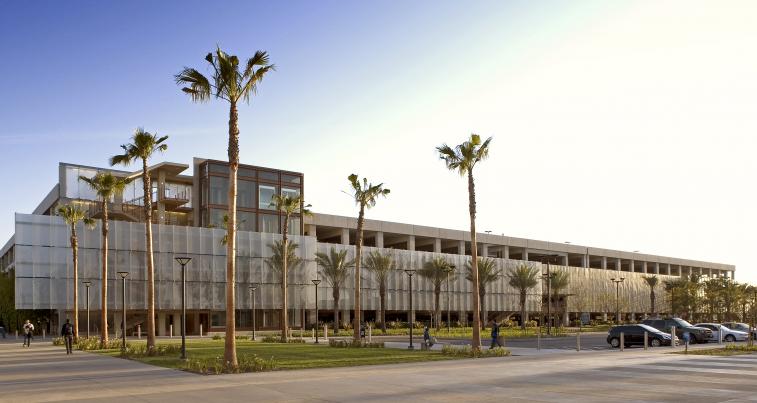 Nutwood Parking Structure; CSU Fullerton